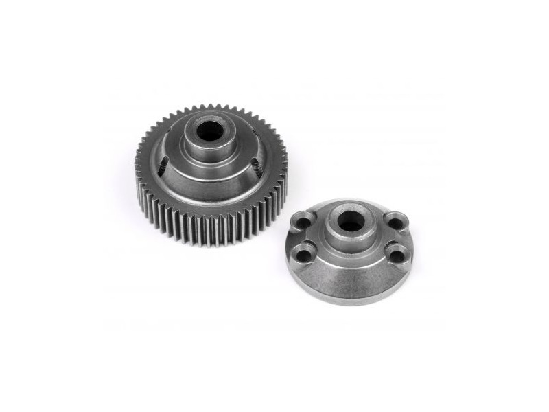 HPI RACING 55T Drive Gear/Diff Case - 86866 click to zoom image