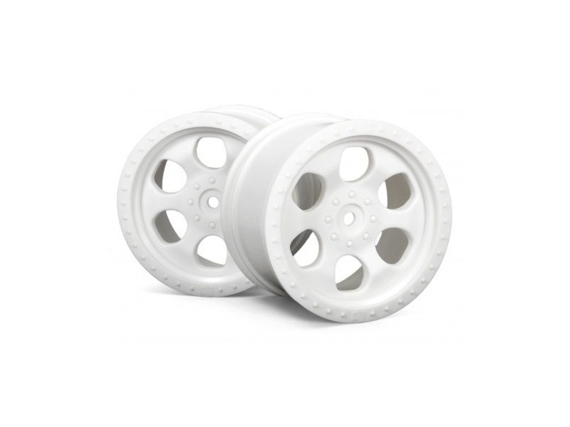 HPI RACING 6 Spoke Wheel White (83X56Mm/2Pcs) - 3115 click to zoom image