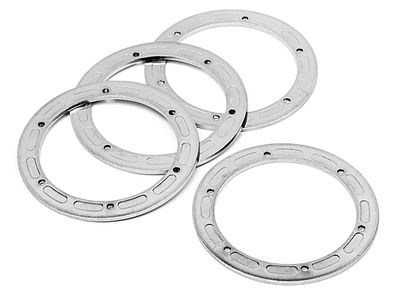 HPI RACING Bead Lock Ring 6 Hole (Silver/47X62X2.0Mm/2Pcs) - 3230