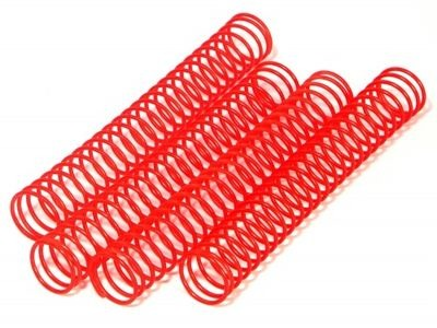 HPI RACING Shock Spring 14.4X117X1.2Mmx25 Coils (Red/4Pcs) - 6743