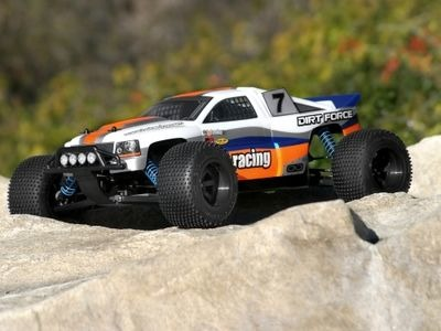 HPI RACING Dirt Force Clear Body - 7130
