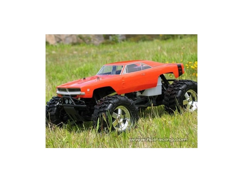 HPI RACING 1969 Dodge Charger Body - 7184 click to zoom image