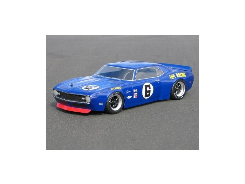 HPI RACING 1968 Chevrolet Camaro Body(200Mm/210Mm) - 7494 click to zoom image