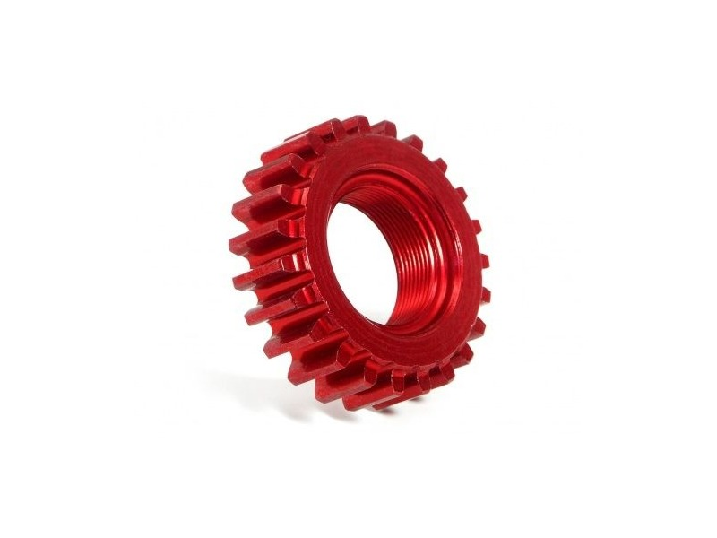 HPI RACING Aluminium Threaded Pinion Gear 23T X 12Mm (1M) - 76983 click to zoom image