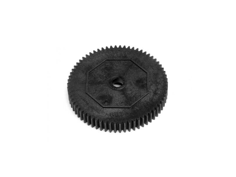 "HPI RACING ""Spur Gear 66T, W/O Slipper Clutch Pad - 82019"" click to zoom image"