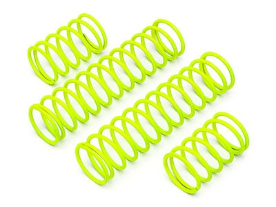 HPI RACING Shock Spring Set 23X155X2.3Mm 17.5Coils (Yellow) - 86760