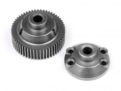 HPI RACING 55T Drive Gear/Diff Case - 86866