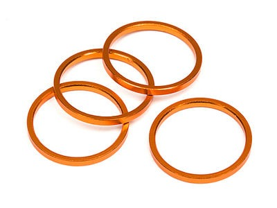 HPI RACING Diff Outdrive Ring (Orange/4Pcs) - 86906