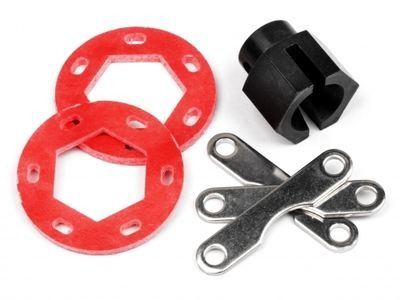 HPI RACING Fiberglass Dual Disk Brake Conversion Kit - 87025
