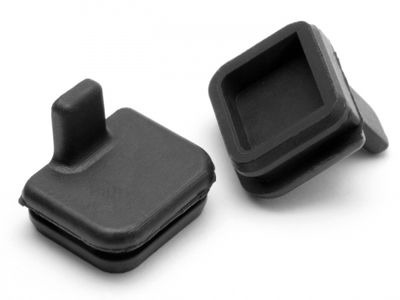HPI RACING Rubber Cap 10X11Mm (Black) - 87027