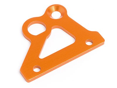 HPI RACING Brake Holder Plate (Orange) - 87487