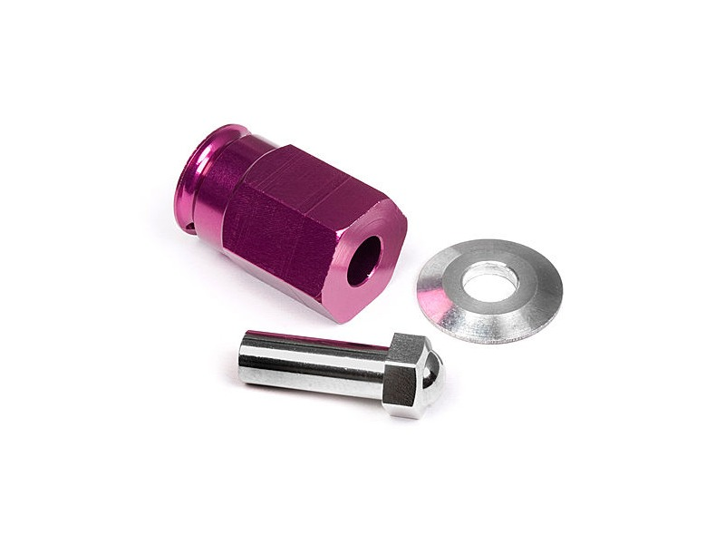 HPI RACING Aluminum Wide Hex Hub 12Mm (24Mm Wide/Purple) - 88055 click to zoom image