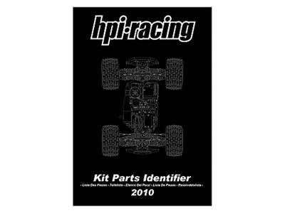 HPI RACING Kit Parts Identifier 2010_11 - 92055