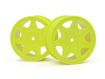 HPI RACING Ultra 7 Wheels Yellow 30Mm (2Pcs) - 100620