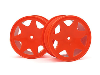 HPI RACING Ultra 7 Wheels Orange 30Mm (2Pcs - 100622