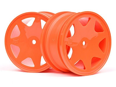 HPI RACING Ultra 7 Wheels Orange 35Mm (2Pcs) - 100623