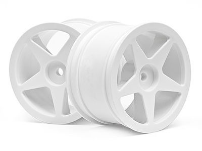 HPI RACING Ultra 5 Wheel White (2.2In/60X38Mm/2Pcs) - 100868