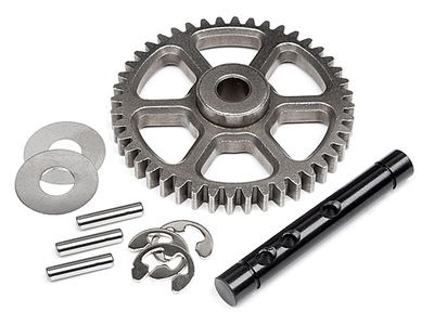 HPI RACING Idler Gear 44T/Shaft Set - 100905