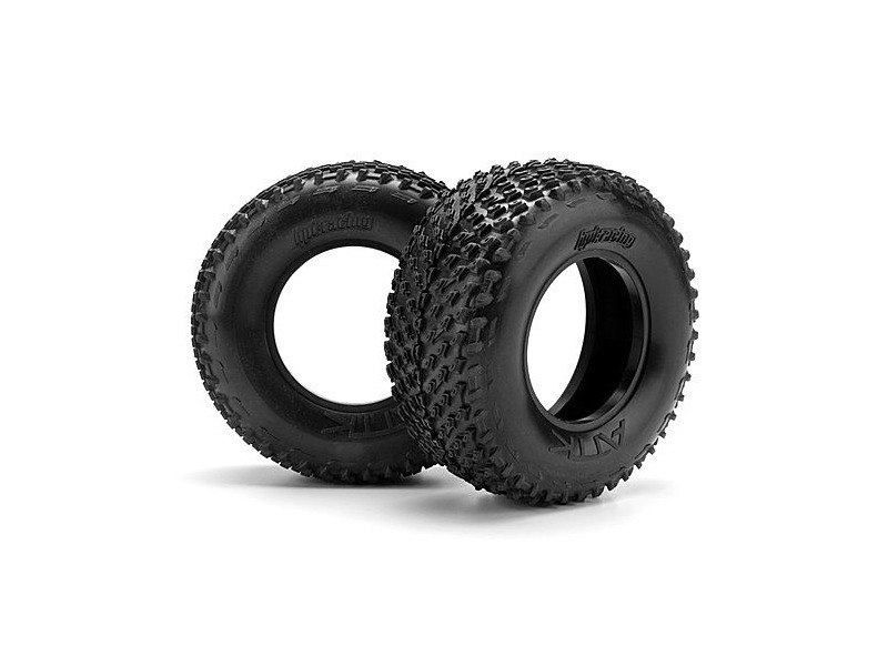 HPI RACING Attk Belted Tire D Compound (2Pcs) - 103346 click to zoom image