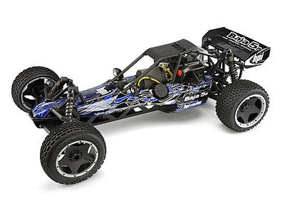 HPI RACING Baja 5B Buggy Tribal Painted Body (Blue) - 104225