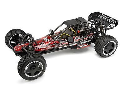 HPI RACING Baja 5B Buggy Tribal Painted Body (Red) - 104230
