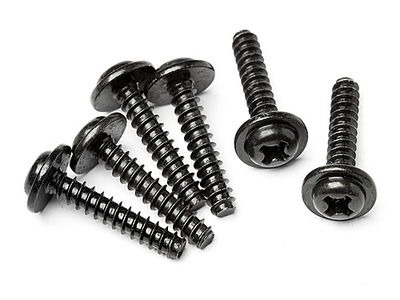 HPI RACING Tp. Flanged Screw M3X15Mm (6Pcs) - Z563