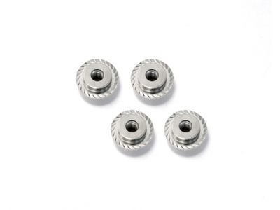 HPI RACING Flanged Lock Nut M5X8Mm (Silver/4Pcs) - Z671