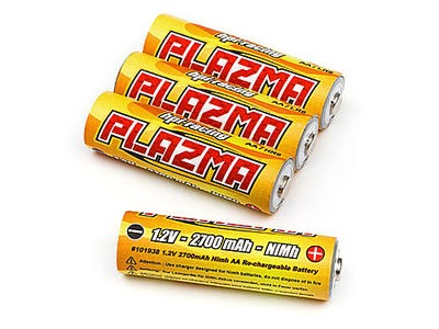 HPI RACING Plazma 1.2V 2700Mah Nimh Aa Re-Chargeable Battery (4Pcs) - 101938