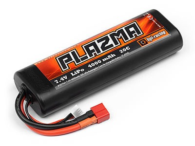 HPI RACING Plazma 7.4V 4000Mah 20C Lipo Case Stick Pack - 101941