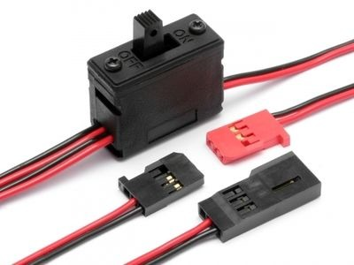 HPI RACING Receiver Switch - 80579