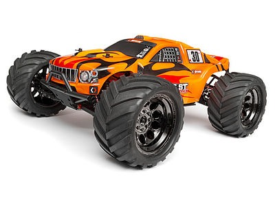 HPI RACING Trimmed And Painted Bullet Flux St Body W/ Hex Decals - 101660