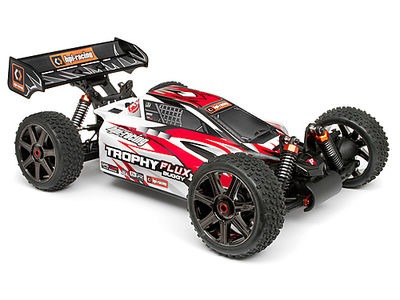 HPI RACING Eu - Clear Trophy Buggy Flux Bodyshell W/Window Masks And Decals