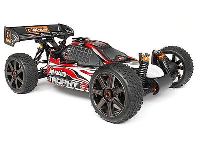 HPI RACING Clear Trophy 3.5 Buggy Bodyshell W/Window Masks And Decals