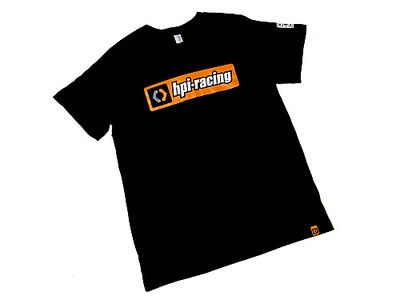 HPI RACING Hpi Classic T-Shirt (Black/Adult Medium) - 107464