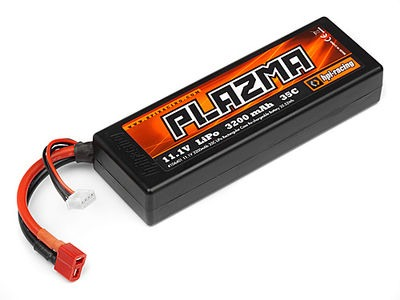 HPI RACING Plazma 11.1V 3200Mah 35C Lipo Battery Pack 35.52Wh - 106401