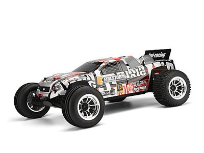 HPI RACING Dsx-2 Truck Painted Body (Orange/Silver/Black) - 106221