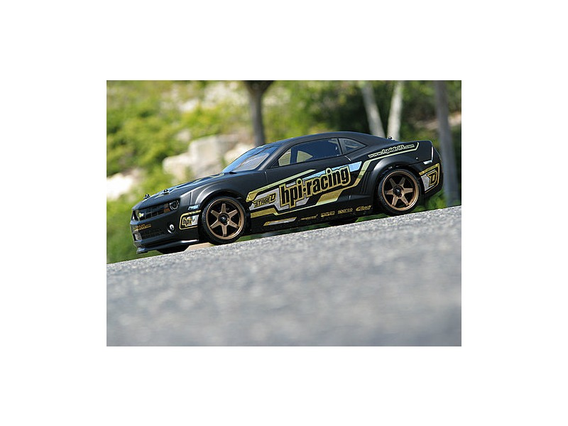 HPI RACING 2010 Chevroletr Camaro Body (Matte Black/200Mm) - 106981 click to zoom image