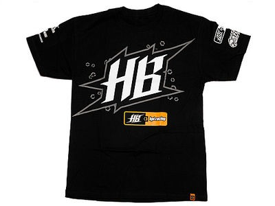 HPI RACING Hpi-Hb Race T-Shirt (Black/Adult X-Large) - 107484