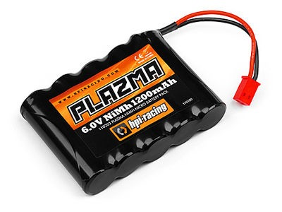 HPI RACING PLAZMA 6.0V 1200MAH NI-MH MICRO BATTERY PACK
