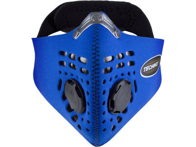 RESPRO Techno Anti Pollution Mask  Medium Blue  click to zoom image