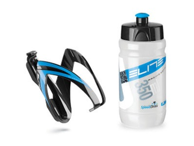 ELITE Ceo youth bottle kit includes cage and 66 mm, 350 ml bottle