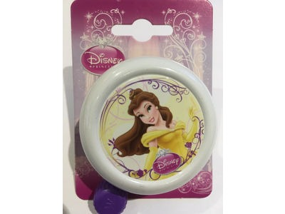 WIDEK Disney Princess Bell (Colour Options). 55mm dia Princess Belle white  click to zoom image