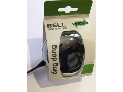 WIDEK Bell Ding Dong Dual Tone Chrome 80mm