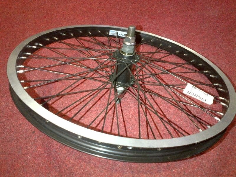 FISHERS 20x1.75 Rear Wheel 48h 14mm black click to zoom image