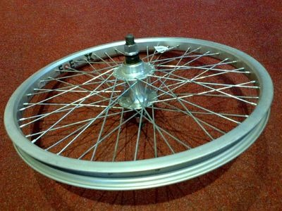 FISHERS 20in BMX Rear wheel 14mm 48h
