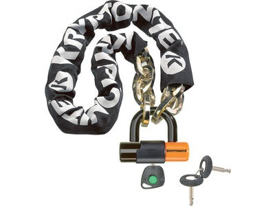 KRYPTONITE New York Noose (12 mm/100 cm) - With Ev Series 4 Disc Lock 14mm Sold Secure Gold
