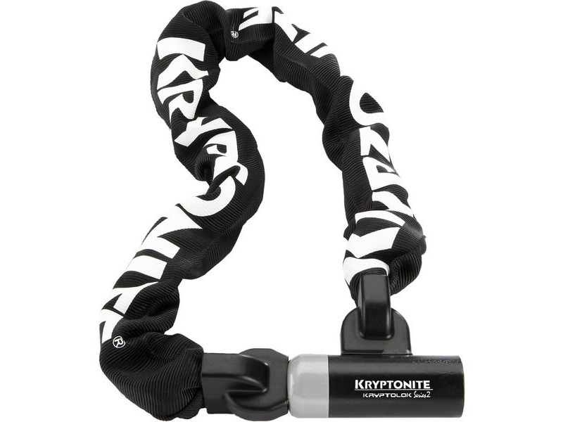 KRYPTONITE Kryptolok 995 Integrated Chain - 9.5 mm X 95 cm Sold Secure Silver click to zoom image