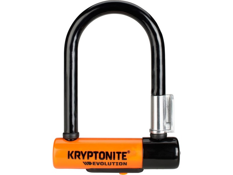 KRYPTONITE Evolution Mini-5 - With Flexframe U Bracket Sold Secure Gold click to zoom image