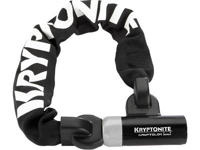 KRYPTONITE Kryptolok 955 Integrated Chain - Sold Secure Silver