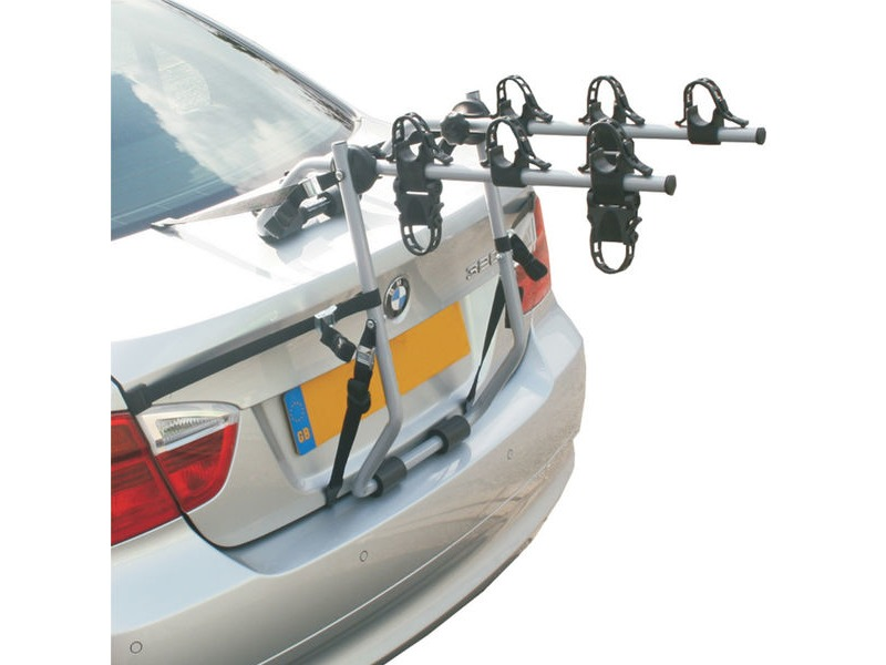 HOLLYWOOD Baja over Spoiler Mount 3 Bike Car Rack click to zoom image